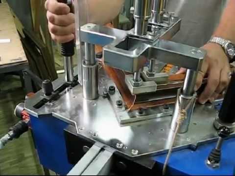 видео: Производство рам для картин