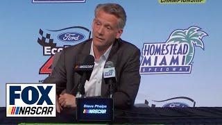 NASCAR President Steve Phelps addresses the state of the sport   FOX NASCAR