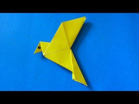 Cara Membuat Origami Burung Merpati Sederhana   Origami Binatang