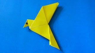 Cara Membuat Origami Burung Merpati Sederhana | Origami Binatang