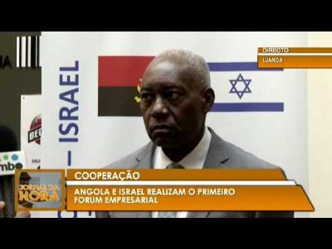 tv zimbo report  Israel Angola  visit June 2017 Morris revah