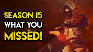 Destiny 2 - 10+ CONFIRMED FEATURES FOR SEASON 15! Crossplay, Stasis Weapons, Subclasses, MORE!