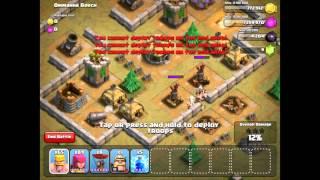 Clash of Clans Single Player Level 24 Ommahha Beach