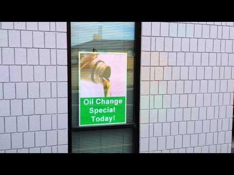LED Window Advertising