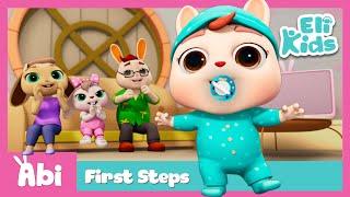 Baby's First Steps | Eli Kids Educational Songs & Nursery Rhymes