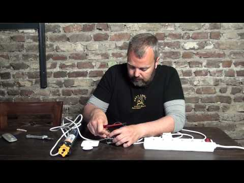 How to a wire roller shutter switch