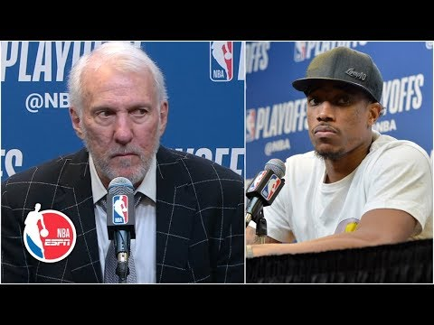 Gregg Popovich still isn't amused after Spurs' Game 6 win vs. the Nuggets | NBA Sound