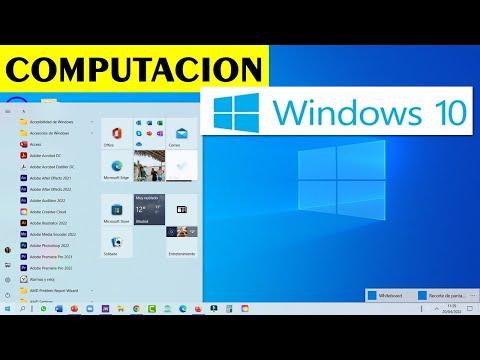 Curso de COMPUTACION empieza desde CERO y llega a un nivel AVANZADO en WINDOWS 10 y en internet 2018