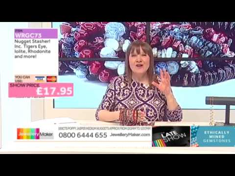 Rolo Chain and 4mm Hearts for jewellery making: JewelleryMaker LIVE 28/02/2015