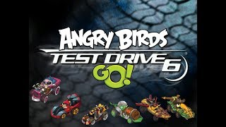 angry birds go with motors of test drive 6