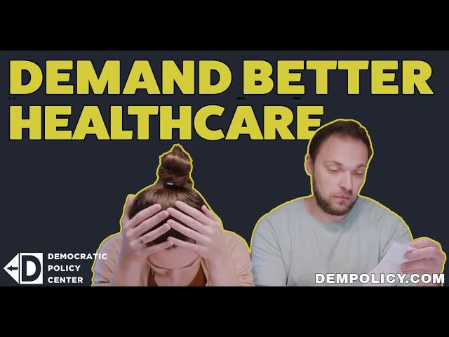 "Democratic Policy Center Ad: ""Are You Paying Too Much For Your Health Insurance?"""