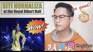 Siti Nurhaliza @ Royal Albert Hall - Aku Cinta Padamu, Diari Hatimu, Kau Kekasihku | REACTION