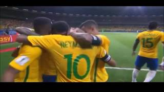 Brezilya 3-0 Arjantin  - Dünya Kupası Elemeleri Maçın Özeti ve Golleri