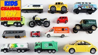 City Vehicles For Kids Children Babies Toddlers | Fire Engine Taxi | Kids Learning | Preschool Songs