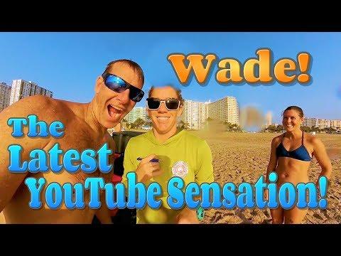 The Latest YouTube Sensation! / Pompano Paddle Post Race Clip