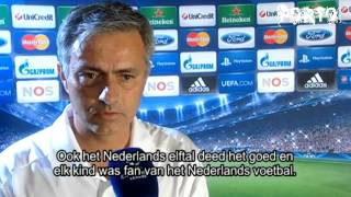 Mourinho gesprek over Ajax en Louis van Gaal - Real Madrid