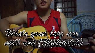 Hướng dẫn guitar solo While your lips are still red (Nightwish) by SMR