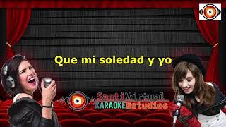 Mon Laferte Mi Soledad & Yo Karaoke