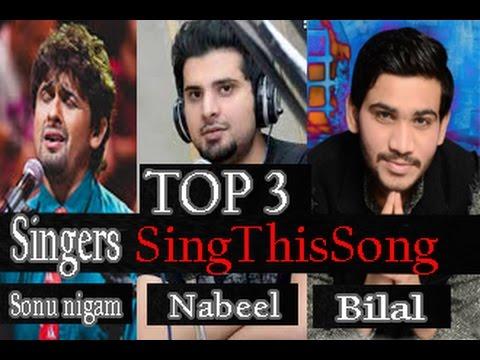 Abhi Mujh Mein Kahin || Sonu Nigam || Nabeel || Bilal ||Hindi Songs||2017