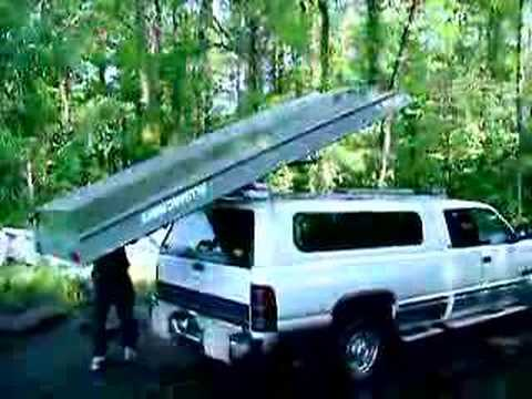 This is how to load a boat - YouTube