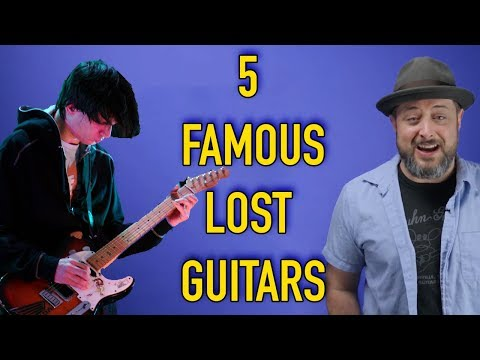5 Famous Lost Guitars
