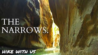 The Narrows - A Place of Beauty and Wonder. Zion National Park, Utah.