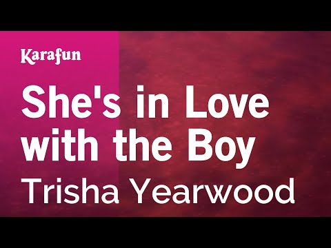 Karaoke She's in Love with the Boy - Trisha Yearwood *