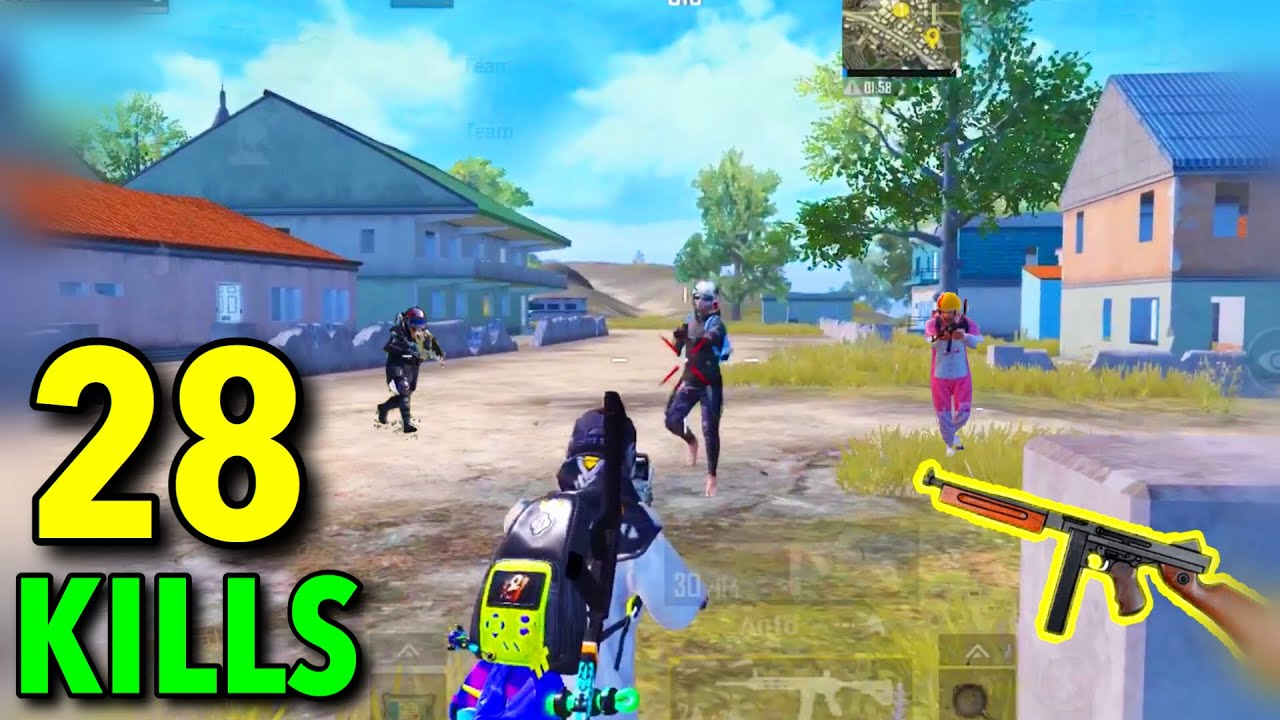 KING OF SMG WEAPON!!! | PUBG MOBILE