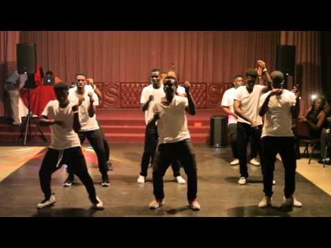University of Arizona African Students Association 2016 Charity Banquet - Guys Dance