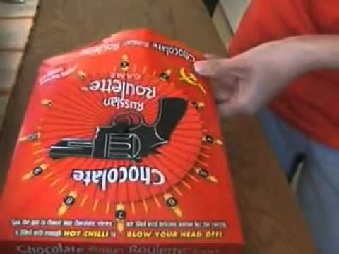 russian roulette game - chocolate picante - YouTube