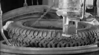 Как делали шины в 1920 году(Несмотря на то, что с момента изобретения резиновых шин для автомобилей и тракторов их внешний вид почти..., 2016-09-22T19:56:43.000Z)