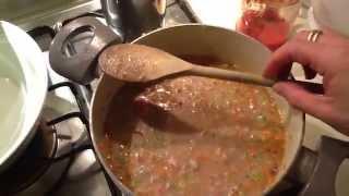 Spelt Soup With Beans Recipe - Ricetta Zuppa Di Farro