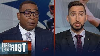 Giants beating the Patriots would be a Herculean task — Nick Wright | NFL | FIRST THINGS FIRST
