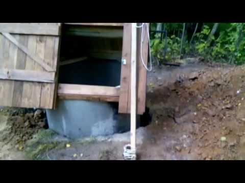 Как измерить уровень воды в колодце.