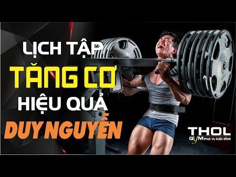 [THEHINHONLINE] Lịch tập tăng cơ hiệu quả của Duy Nguyễn năm 9/2013