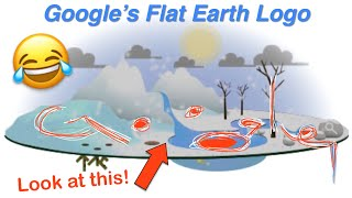 Google Knows Earth Is Flat, They Mock Us With 2016 Earth Day Logo