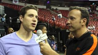2013 NBA Summer League: Interview with @JimmerFredette