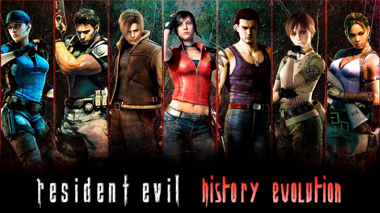 Resident Evil Evolution All Games 1996 2017