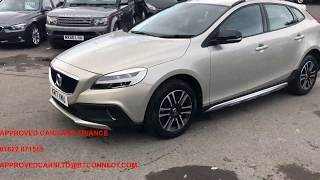 APPROVED CARS AND FINANCE VOLVO V40 CROSS COUNTRY WITH ONLY 41000 MILES AND A FULL SERVICE HISTORY