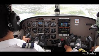 Piper PA28 Warrior - Full Flight & Great Cockpit Views!