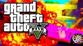 GTA 5 PC - The Crew Vs The Cops!