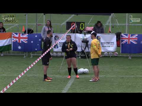2018 Asia-Pacific Fistball Championships - Australia vs New Zealand, Men's Final