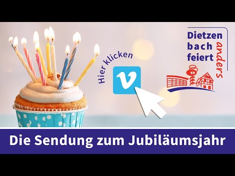 Dietzenbach feiert anders - Die Sendung zum Jubiläumsjahr 2020