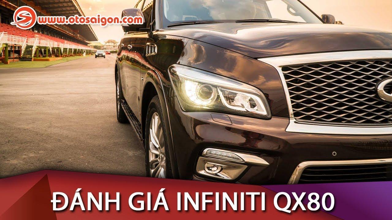 Trải nghiệm SUV cỡ lớn hạng sang Infiniti QX80 2015; đi được 35.000 km, giá khoảng 5 tỷ
