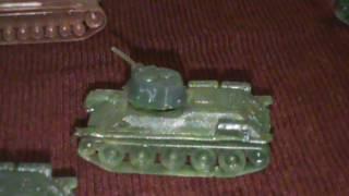 Іграшки Танк Тигр і Т - 34 .Курська Дуга .Прохорівка.