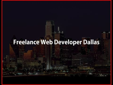 Freelance Web Developer Dallas