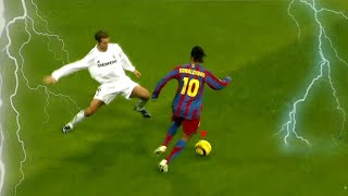 Why are Defenders so SCARED of Ronaldinho?