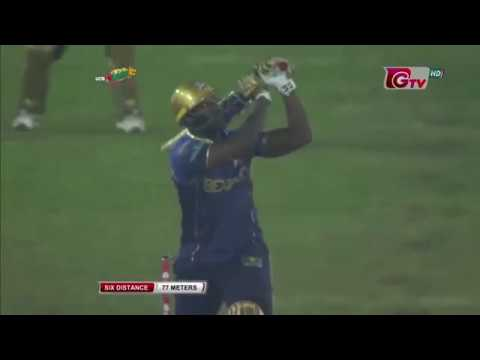 BPL 2019 Big Hit Six For || Andre Russell || Bangladesh Premier League 2019