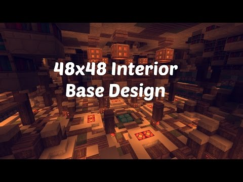 48x48 Factions Base Tour (Minecraft Factions Interior Design Ep 2)