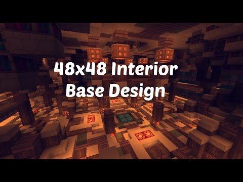 48x48 Factions Base Tour (Minecraft Factions Interior Design Ep 2)